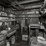 Ponting's darkroom
