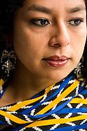 Rubí Oseguera es una antropóloga y una bailadora de fandango del estado de Veracruz, difusora de ese tradicional modo de hacer fiesta.