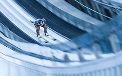 31.12.2016, Schattenbergschanze, Oberstdorf, GER, FIS Weltcup Ski Sprung, Vierschanzentournee, Oberstdorf, Training, im Bild Elias Tollinger (AUT) // Elias Tollinger of Austria during his Practice Jump for the Four Hills Tournament of FIS Ski Jumping World Cup at the Schattenbergschanze in Oberstdorf, Germany on 2016/12/31. EXPA Pictures © 2016, PhotoCredit: EXPA/ Jakob Gruber