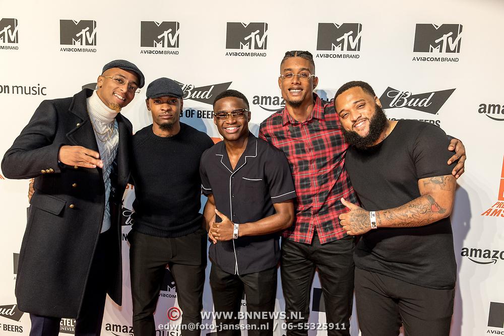 NLD/Amsterdam/20191028 - MTV Pre Party in Amsterdam, Broederliefde