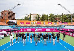 PORTOROZ, SLOVENIA - SEPTEMBER 19:  Referees during the WTA 250 Zavarovalnica Sava Portoroz at SRC Marina, on September 19, 2021 in Portoroz / Portorose, Slovenia. Photo by Vid Ponikvar / Sportida