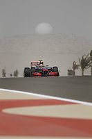 MOTORSPORT - F1 2012 -  BAHRAIN GRAND PRIX - SAKHIR (BHR) - 19 TO 22/04/2012 - PHOTO : FREDERIC LE FLOC'H / DPPI - <br /> HAMILTON LEWIS (GBR) - MCLAREN MERCEDES MP4-27 - ACTION