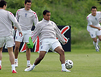 Photo: Paul Thomas.<br /> England Training Session. 01/06/2006.<br /> <br /> Theo Walcott.