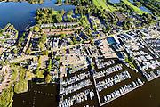 Nederland, Noord-Holland, Gemeente Wijdemeren, 27-09-2015; Oud-Loosdrecht, watersport en recreatie Loosdrechtse Plassen<br /> Loosdrechtse Plassen, sports and recreation Loosdrecht Lakes.<br /> luchtfoto (toeslag op standard tarieven);<br /> aerial photo (additional fee required);<br /> copyright foto/photo Siebe Swart