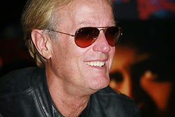 File photo - Actor Peter Fonda promotes his starring role in Columbia Pictures' Ghost Rider with a handprint ceremony at Planet Hollywood Times Square, in New York City, NY, USA, on February 14, 2007. Peter Fonda, the star, co-writer and producer of the 1969 cult classic Easy Rider, has died at the age of 79. Peter Fonda was part of a veteran Hollywood family. As well as being the brother of Jane Fonda, he was also the son of actor Henry Fonda, and father to Bridget, also an actor. Photo by Gerald Holubowicz/ABACAPRESS.COM