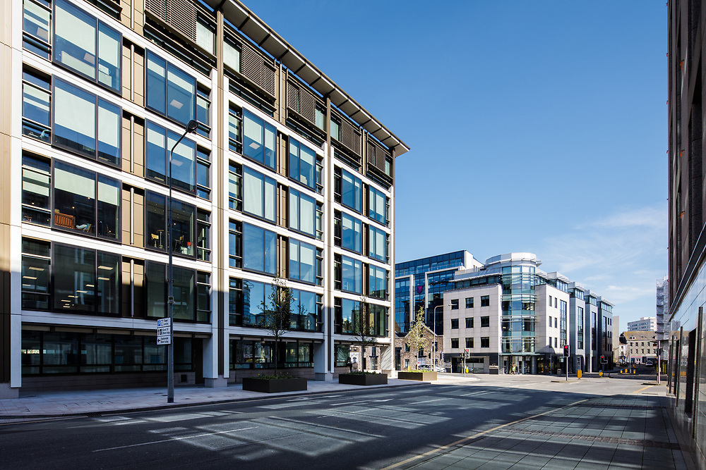 International Finance Centre corporate offices in St helier, Jersey, CI