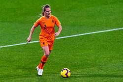 09-11-2018 NED: UEFA WC play-off final Netherlands - Switzerland, Utrecht<br /> European qualifying for the 2019 FIFA Women's World Cup - Desiree van Lunteren #2 of Netherlands