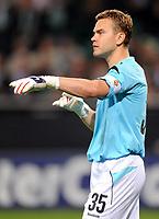 Fotball<br /> Tyskland<br /> Foto: Witters/Digitalsport<br /> NORWAY ONLY<br /> <br /> 15.09.2009<br /> <br /> Torwart Igor Akinfeev Moskau<br /> Champions League VfL Wolfsburg - CSKA Moskva 3:1