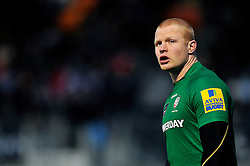 Tom Homer of London Irish looks on - Photo mandatory by-line: Patrick Khachfe/JMP - Mobile: 07966 386802 03/01/2015 - SPORT - RUGBY UNION - London - Allianz Park - Saracens v London Irish - Aviva Premiership
