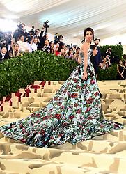 Amal Clooney attending the Metropolitan Museum of Art Costume Institute Benefit Gala 2018 in New York, USA.