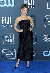 Renee Zellweger at the 25th Annual Critics' Choice Awards held at the Barker Hangar in Santa Monica, USA on January 12, 2020.