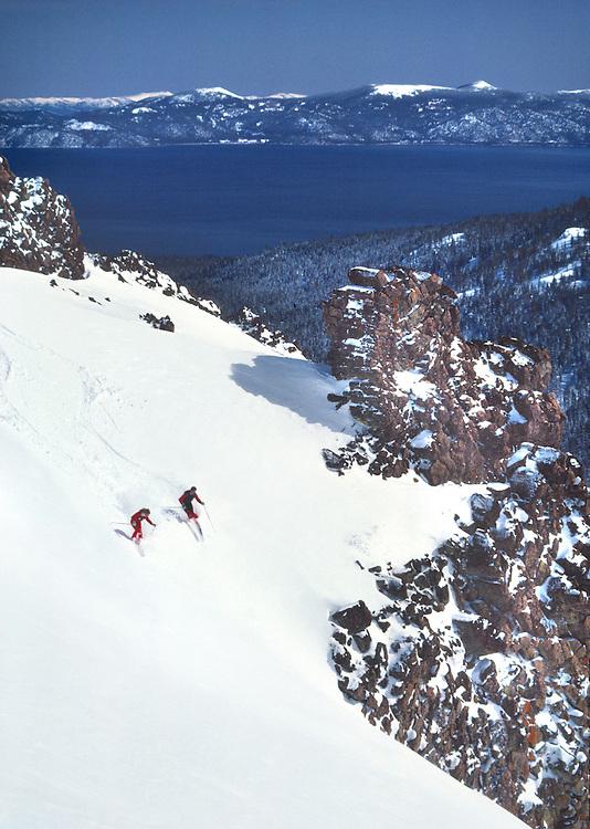Lake Tahoe Skiing at Alpine Meadows Lake Tahoe