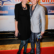 NLD/Utrecht/20121018- Premiere Speed, Thomas Berge en partner Myrthe Mylius