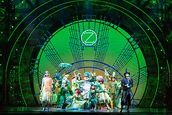 July 3, 2017 - Guangzhou, Guangzhou, China - Guangzhou, CHINA-July 3 2017: (EDITORIAL USE ONLY. CHINA OUT)..The Broadway musical 'Wicked' is staged in Guangzhou, south China's Guangdong Province, July 3rd, 2017. (Credit Image: © SIPA Asia via ZUMA Wire)