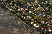 Georgetown & Sea Wall<br /> Georgetown built below sea level<br /> GUYANA<br /> South America
