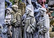 St Francis garden statuary.
