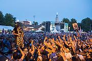 Juicy J performs at North Coast Music Festival