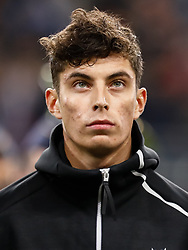 November 15, 2018 - Leipzig, Germany - Kai Havertz of Germany looks on during the international friendly match between Germany and Russia on November 15, 2018 at Red Bull Arena in Leipzig, Germany. (Credit Image: © Mike Kireev/NurPhoto via ZUMA Press)