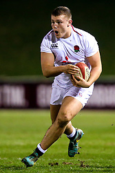 Olly Adkins of England U20 - Mandatory by-line: Robbie Stephenson/JMP - 22/02/2019 - RUGBY - Zip World Stadium - Colwyn Bay, Wales - Wales U20 v England U20 - Under-20 Six Nations