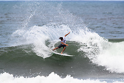 Barron Mamiya of Hawaii advances to round 4 after placing first in round 3 heat 8 ​of the 2018 Hawaiian Pro at Haleiwa, Oahu, Hawaii, USA.