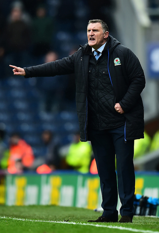Blackburn Rovers manager Tony Mowbray issues instructions<br /> <br /> Photographer Richard Martin-Roberts/CameraSport<br /> <br /> The EFL Sky Bet Championship - Blackburn Rovers v Wigan Athletic - Saturday 4th March 2017 - Ewood Park - Blackburn<br /> <br /> World Copyright © 2017 CameraSport. All rights reserved. 43 Linden Ave. Countesthorpe. Leicester. England. LE8 5PG - Tel: +44 (0) 116 277 4147 - admin@camerasport.com - www.camerasport.com