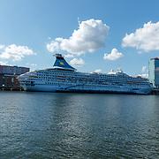 NLD/Amsterdam/20180913 - Cruiseschip Ariana in de Amsterdamse haven
