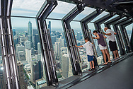 The TILT experience at the 360 Observatory at the John Hancock Center.
