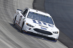 May 4, 2018 - Dover, Delaware, United States of America - Brad Keselowski (2) brings his car through the turns during practice for the AAA 400 Drive for Autism at Dover International Speedway in Dover, Delaware. (Credit Image: © Chris Owens Asp Inc/ASP via ZUMA Wire)