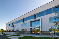 Exterior photo of office building at 700 Quince Orchard Drive in Gaithersburg MD by Jeffrey Sauers of CPI Productions