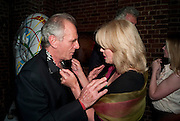 JOANNA LUMLEY; MARK SHAND, The launch party for Elephant Parade hosted at the house of  Jan Mol. Covent Garden. London. 23 June 2009.