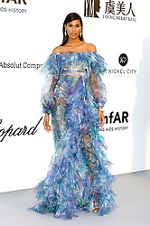 May 23, 2019 - Antibes, Alpes-Maritimes, Frankreich - Cindy Bruna attending the 26th amfAR's Cinema Against Aids Gala during the 72nd Cannes Film Festival at Hotel du Cap-Eden-Roc on May 23, 2019 in Antibes (Credit Image: © Future-Image via ZUMA Press)