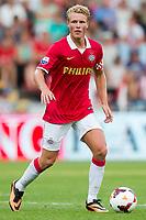 EINDHOVEN, PSV - FC Eindhoven, voetbal oefenduel, seizoen 2013-2014, 09-07-2013, Philips Stadion, PSV speler Oscar Hiljemark.