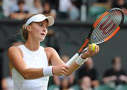 July 4, 2018 - Angleterre - Wimbledon - Kristina Mladenovic France (Credit Image: © Panoramic via ZUMA Press)