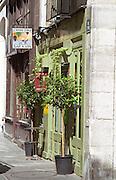 Wine bar Rouge Groge in the Marais quarters in Paris Paris, France.