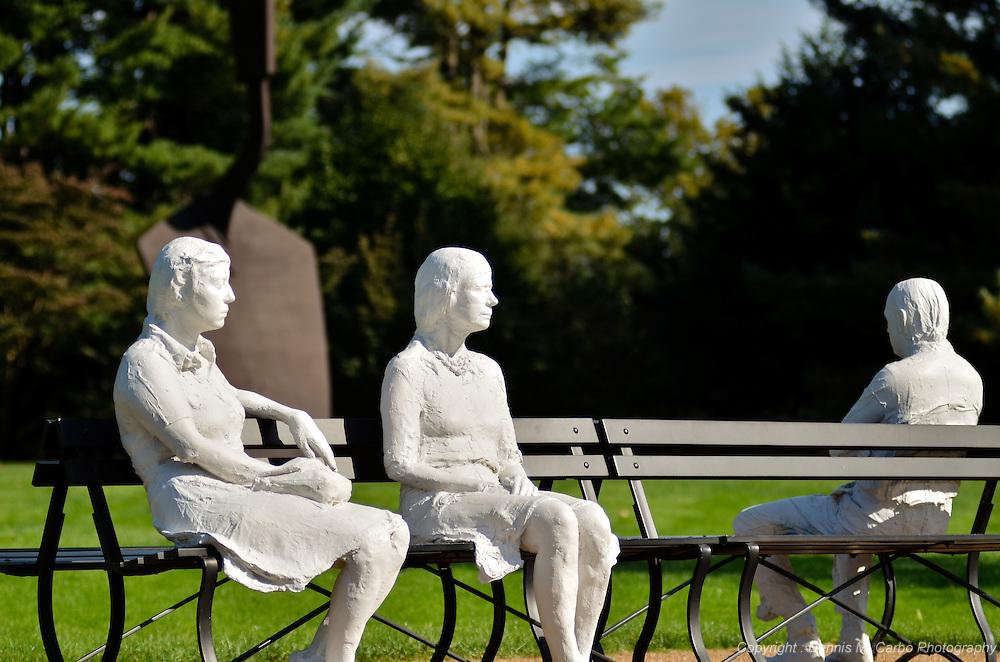 Plaster People at PepsiCo Gardens 2011