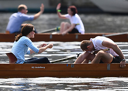 The Duke and Duchess of Cambridge take part in a rowing race in Heidelberg, Germany, on the 20th July 2017. 20 Jul 2017 Pictured: Catherine, Duchess of Cambridge, Kate Middleton, Prince William, Duke of Cambridge. Photo credit: James Whatling / MEGA TheMegaAgency.com +1 888 505 6342