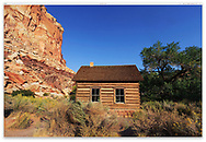 The Fruita Schoolhouse at Capitol Reef National Park, Utah; USA
