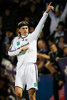 FOOTBALL - BELGIUM CHAMPIONSHIP 2009/2010 - KVC WESTERLO v RSC ANDERLECHT - 11/12/2009 - PHOTO JOHAN EYCKENS / PHOTO NEWS / DPPI - JOY NICOLAS FRUTOS (AND) AFTER HIS GOAL
