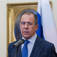 Sergei Lavrov visits Janos Martonyi 2013