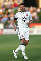 Fotball<br /> Foto: imago/Digitalsport<br /> NORWAY ONLY<br /> <br /> 06 May 2009:  Jaime Moreno (99) of D.C. United.  The MLS Kansas City Wizards tied the visiting DC United 1-1 at Community America Ballpark in Kansas City, Kansas. MLS: MAY 06 DC United at Wizards