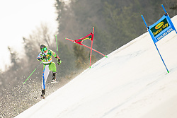 March 9, 2019 - Kranjska Gora, Kranjska Gora, Slovenia - Borut Bozic of Slovenia in action during Audi FIS Ski World Cup Vitranc on March 8, 2019 in Kranjska Gora, Slovenia. (Credit Image: © Rok Rakun/Pacific Press via ZUMA Wire)