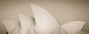 Sydney Opera House, detail of sails