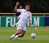Photo: Chris Ratcliffe.<br />England training session. 06/06/2006.<br />Frank Lampard at training.