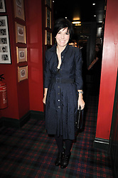 SHARLEEN SPITERI at the Johnnie Walker Blue Label great Scot Award 2010 in association with The Spectator and Boisdale held at Boisdale of Belgravia, 22 Ecclestone Street, London SW1 on 24th February 2010.