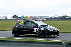 Simon Hutchins pictured while competing in the 750 Motor Club's Hot Hatch Championship. Picture taken at Snetterton on October 17, 2020 by 750 Motor Club photographer Jonathan Elsey