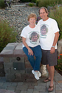Martha and Duane Tessmer spend time together in Donovan's Garden. Martha started Mother of an Angel Friendship Network after Donovan died in a car accident. Martha is also an advocate for Teen Impact Driving.