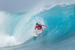 Conner Coffin of the USA, current No.17 on the Jeep Leaderboard finished equal 9th in the Billabong Pro Tahiti after placing second to Jordy Smith of South Africa in Heat 3 of Round Five at Teahupo'o, Tahiti.