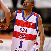NLD/Almere/20091112 - USA Legends - Dutch legends met oa Dennis Rodman, Tyrone Bogues