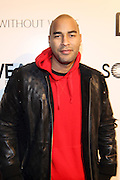 Miguel Perdomo at the Common Celebration Capsule Line Launch with Softwear by Microsoft at Skylight Studios on December 3, 2008 in New York City..Microsoft celebrates the launch of a limited-edition capsule collection of SOFTWEAR by Microsoft graphic tees designed by Common. The t-shirt  designs. inspired by the 1980's when both Microsoft and and Hip Hop really came of age, include iconography that depicts shared principles of the technology company and the Hip Hop Star.