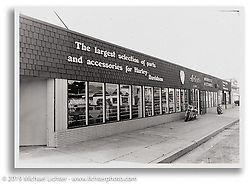 The second Arlen Ness Store on East 14th Street in San Leandro, CA.  ©1982 Ness Family Archive Photo